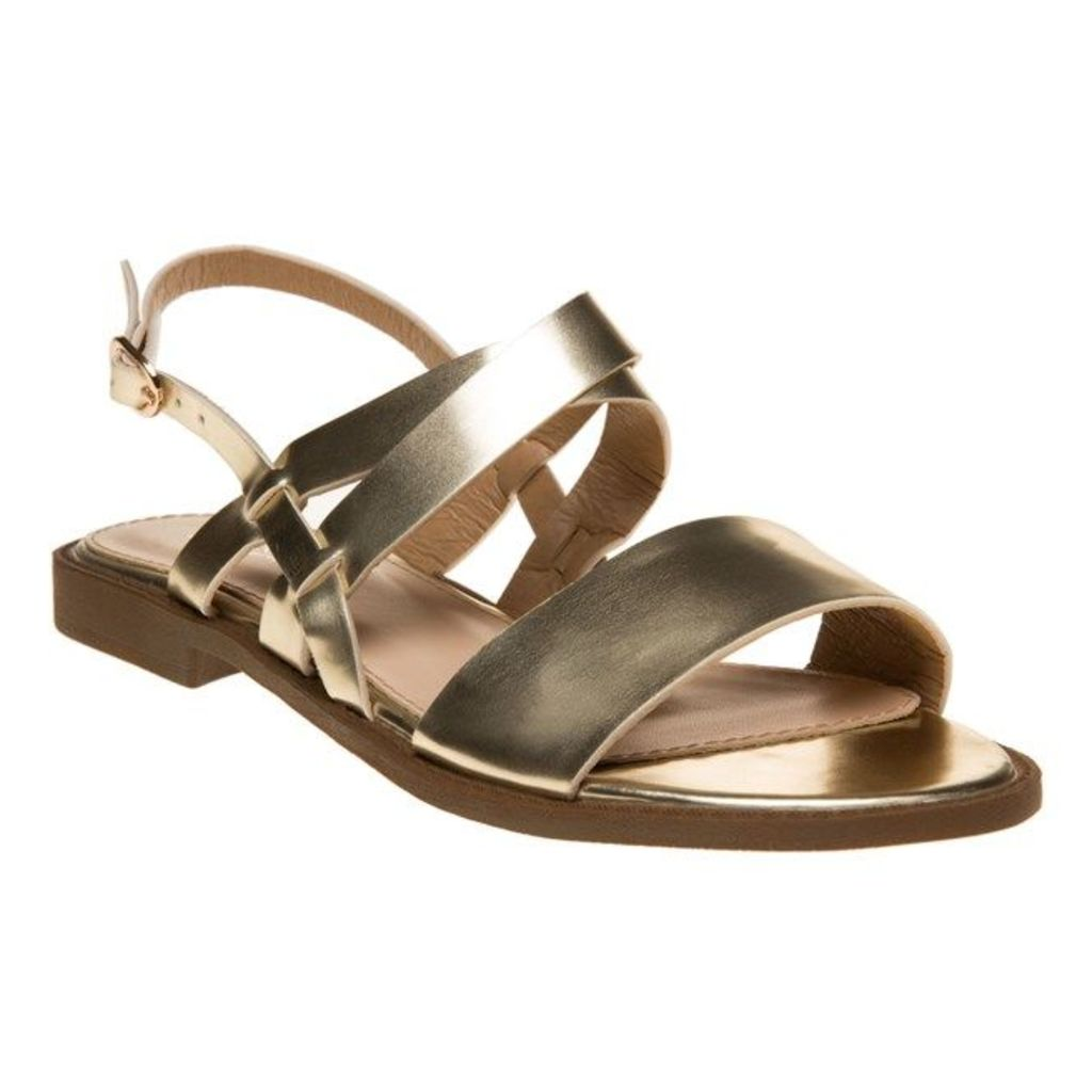 SOLESISTER Hale Sandals, Gold