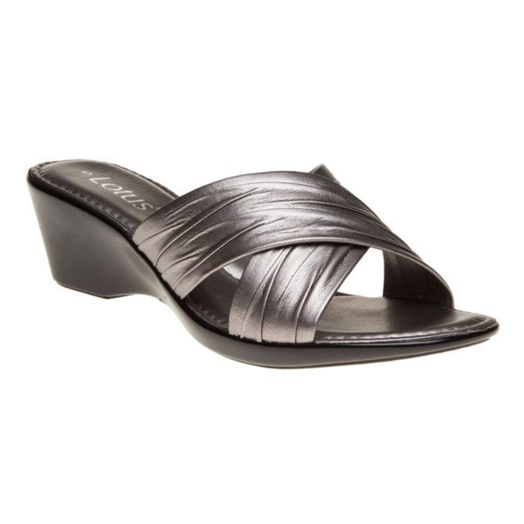 Lotus Mercia Sandals, Pewter