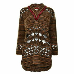 Fendi Lazer Cut Jumper