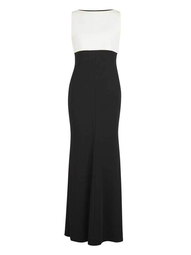 Gina Bacconi Monochrome Crepe Dress and Top