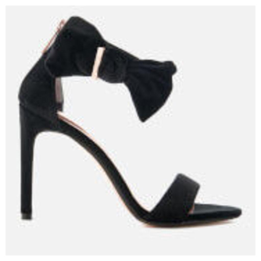 Ted Baker Women's Torabel Velvet Barely There Heeled Sandals - Black