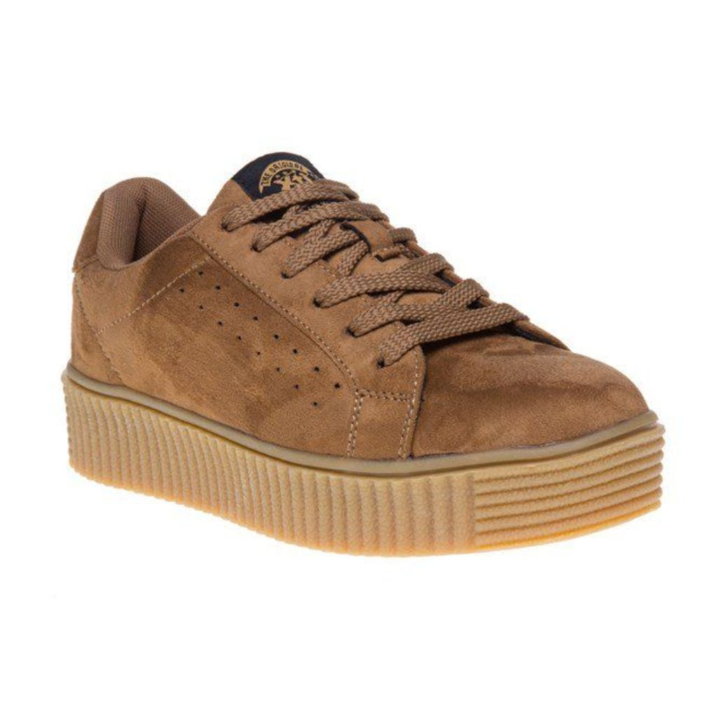 XTI 46102 Trainers, Camel