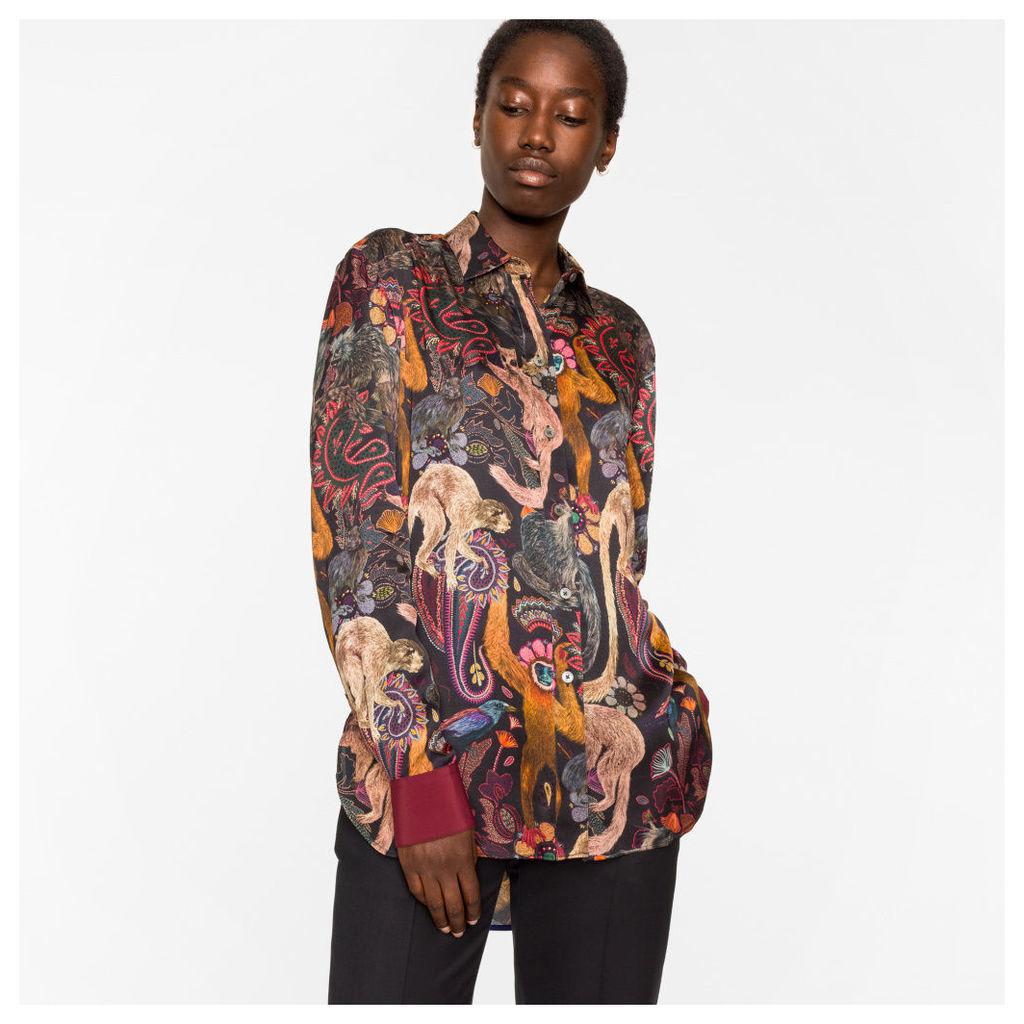 Women's 'Monkey' Print Shirt