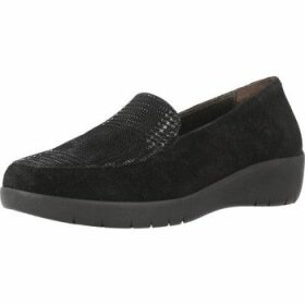 Stonefly  PASEO III 1  women's Loafers / Casual Shoes in Black