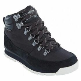 The North Face  W Backtoberk Reduxtnf Black  women's Shoes (High-top Trainers) in Black