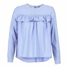Betty London  HOURA  women's Blouse in Blue