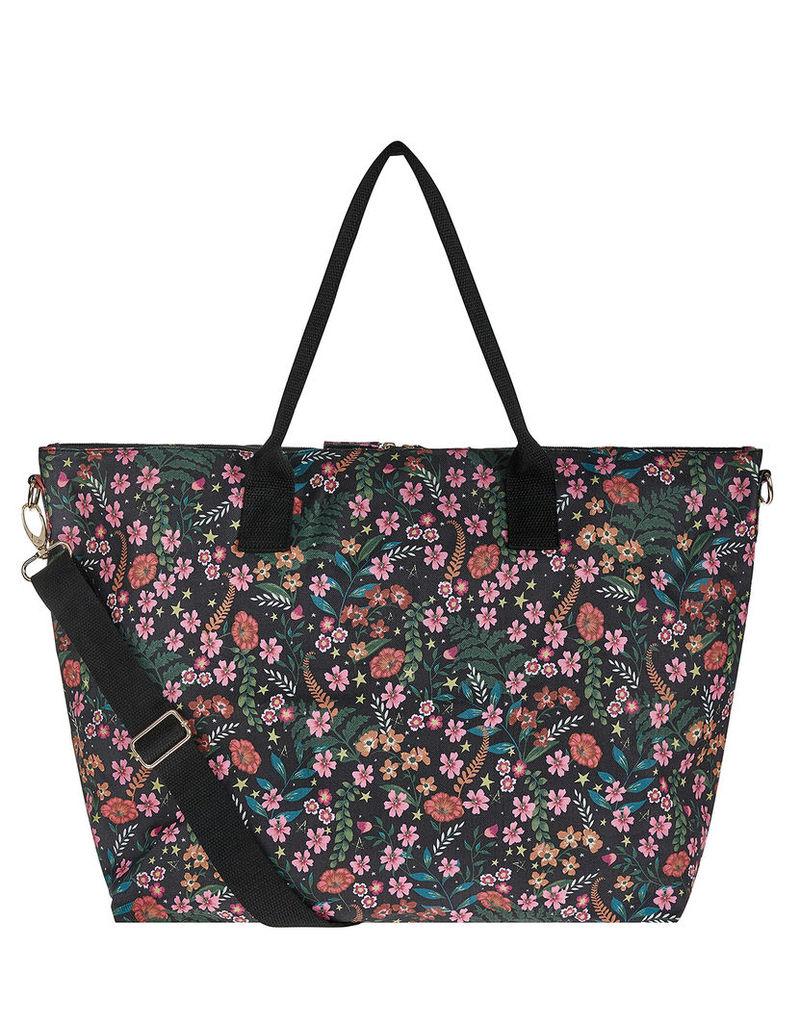 Woodland Floral Packable Weekender Bag