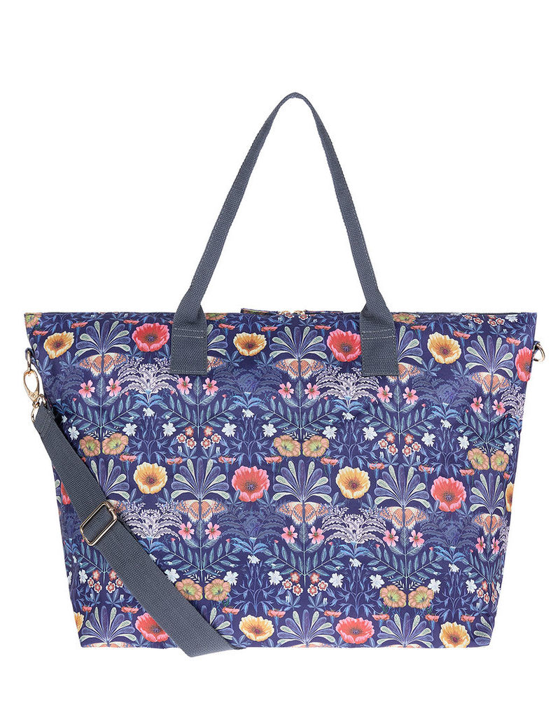 Botanical Floral Packable Weekender Bag