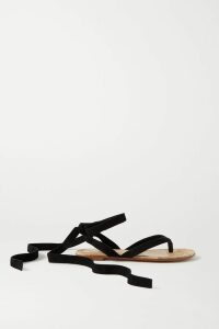 The Elder Statesman - Distressed Cashmere Sweater - Light blue