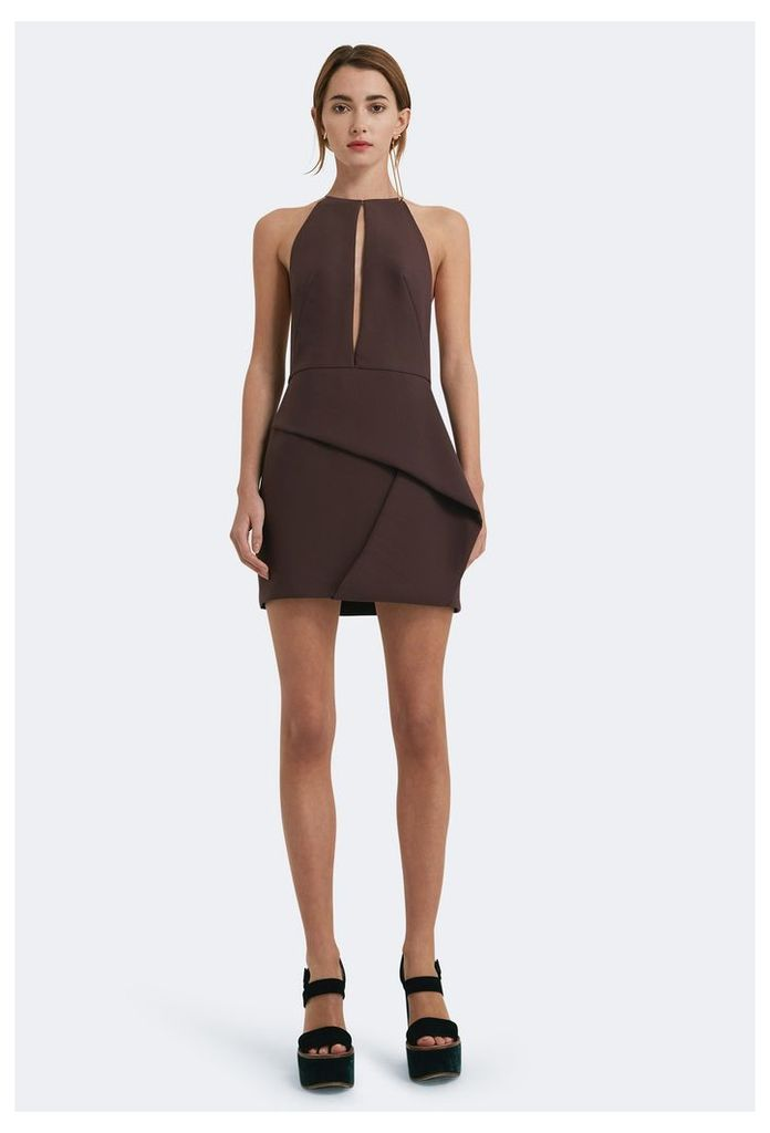 Andie Keyhole Front Mini Dress - Mulberry