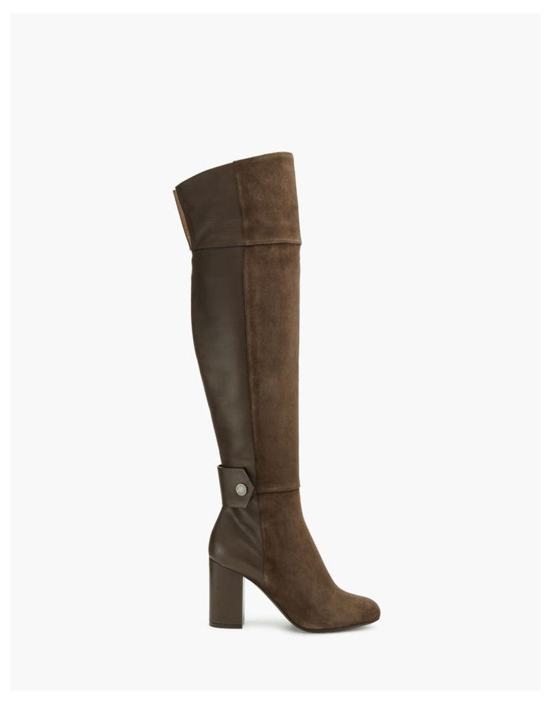 Belstaff Ashbridge Boot Woman Brown