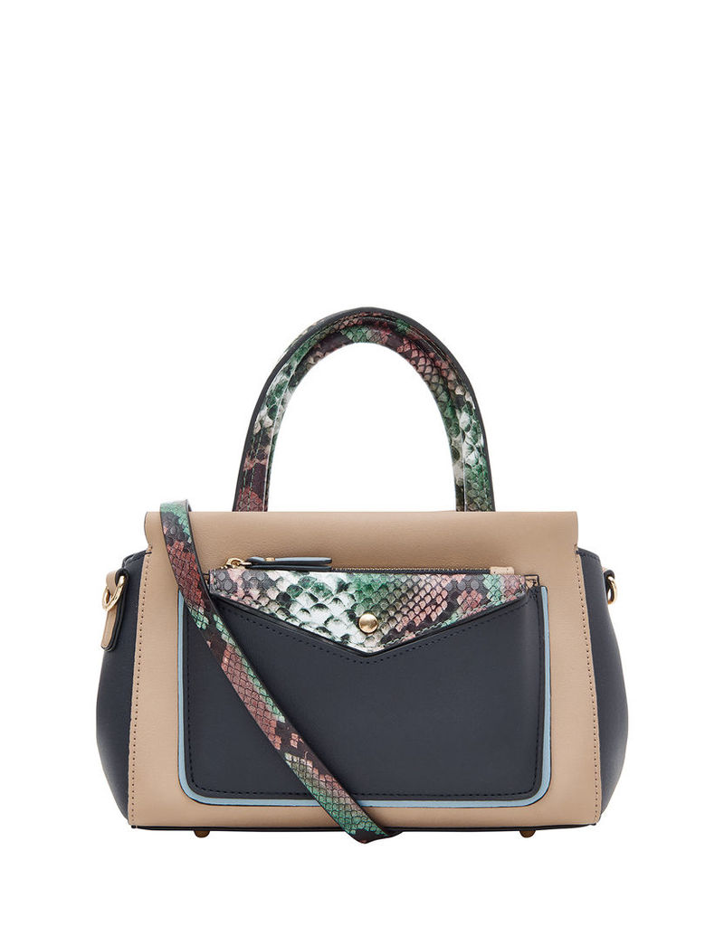 Audrey Colourblock Mini Handheld Bag