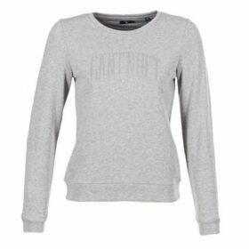 Gant  LUREX C-NECK SWEAT  women's Sweatshirt in Grey