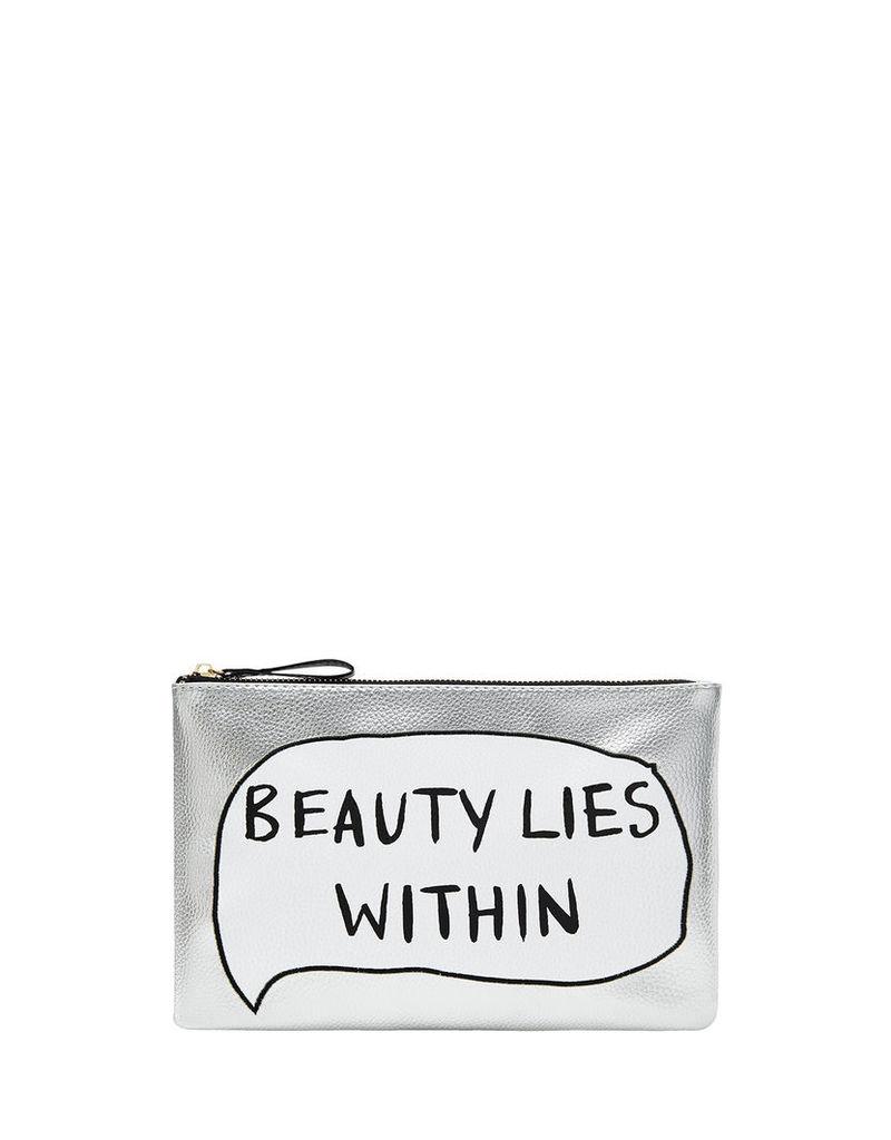 Beauty Lies Within Makeup Bag