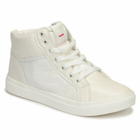 Superdry  AVA HI TOP  women's Shoes (High-top Trainers) in White