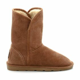 Carmen Suede Boots with Faux Fur Lining
