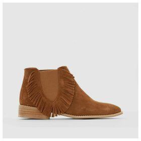 Chelsea Suede Ankle Boots.