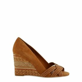Avimi Leather Wedge Sandals
