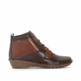 Wabana W7D Leather Ankle Boots