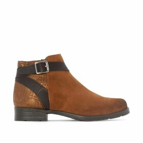 Mol Leather Ankle Boots