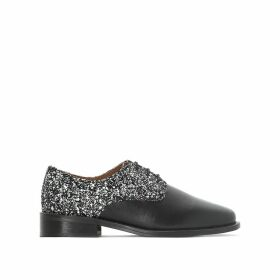 Desir Sparkly Leather Brogues