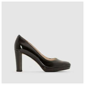 Kendra Sienna Leather Court Shoes
