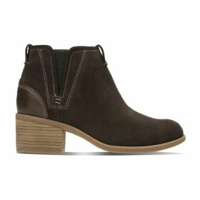 Maypearl Daisy Leather Ankle Boots