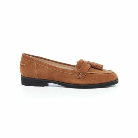 Amya Leather Loafers