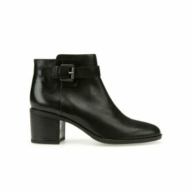 Glynna Leather Ankle Boots