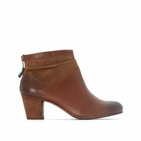 Seety Leather Ankle Boots