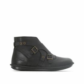 Waboot Leather Ankle Boots