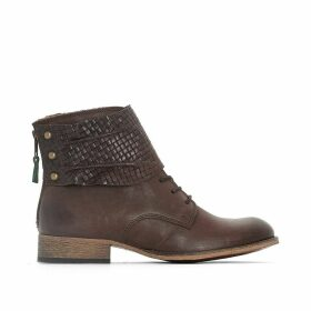 Punkyzip Leather Ankle Boots