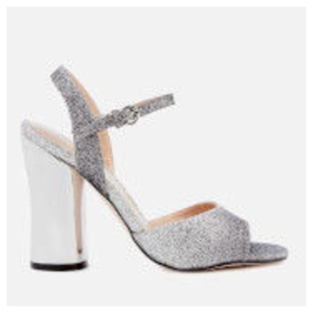 Miss KG Women's Erin Two Part Heeled Sandals - Gunmetal