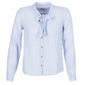 Cream  CAMA STRIPED SHIRT  women's Shirt in Blue