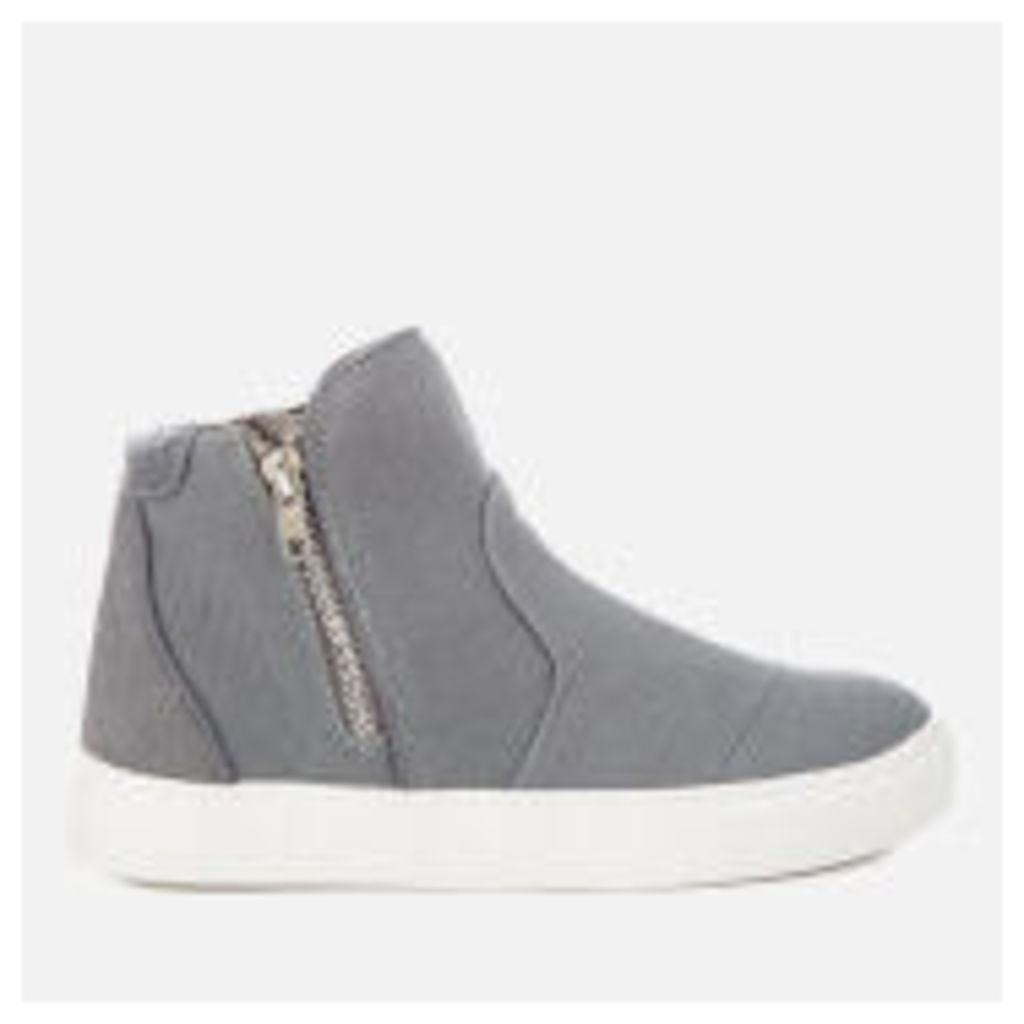 Superdry Women's Boston Zip Boots - Grey/Grey