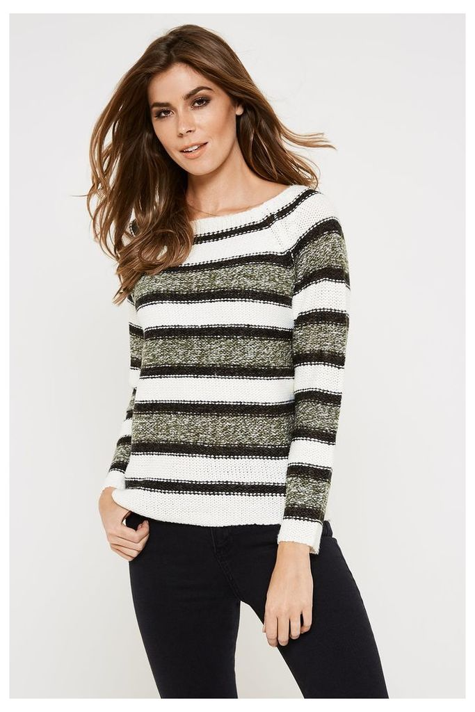 Vero Moda Mandy Long Sleeve Jumper - Green