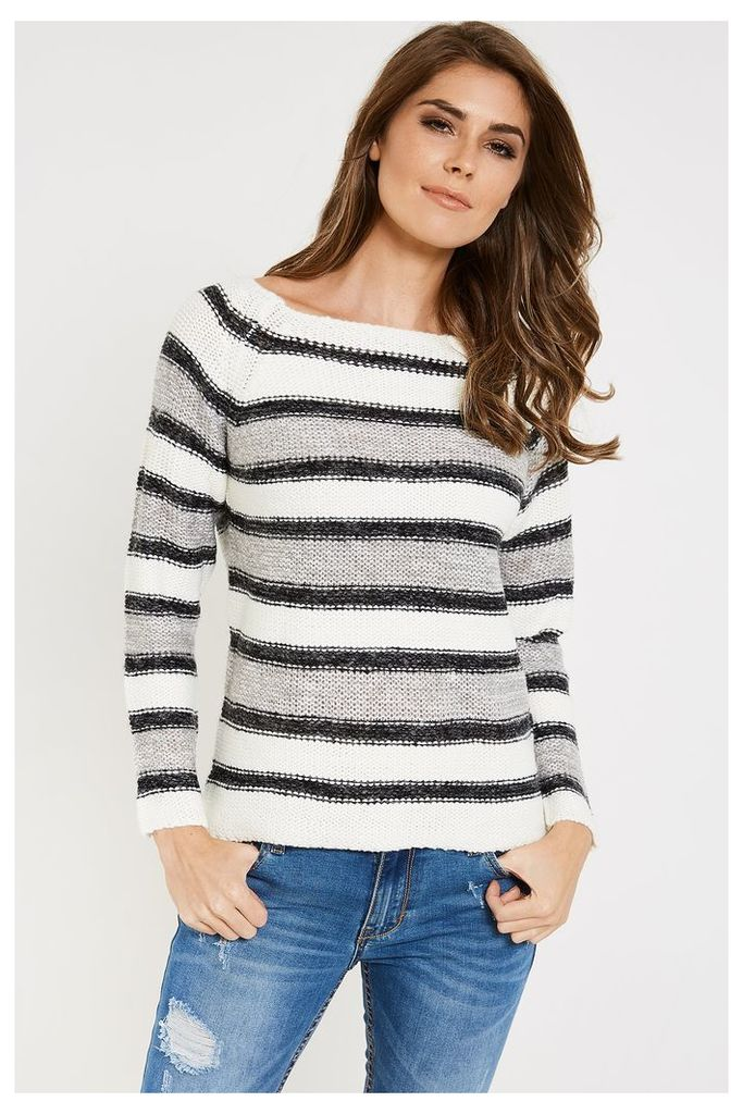 Vero Moda Mandy Long Sleeve Jumper - Grey