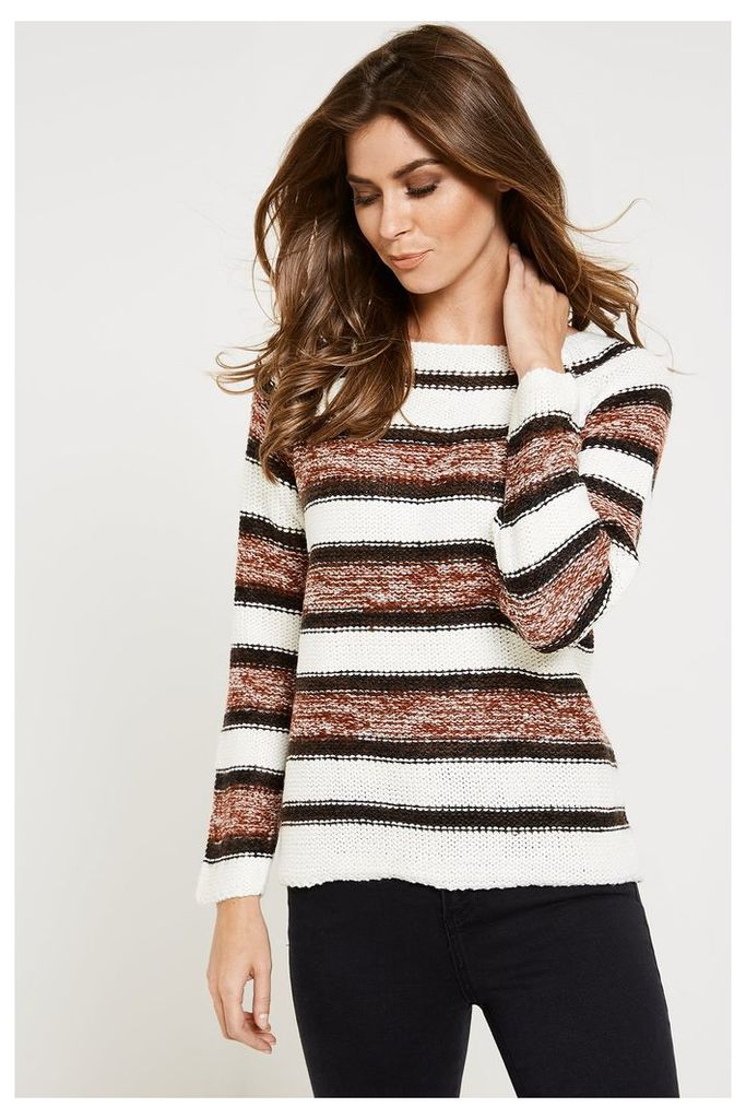 Vero Moda Mandy Long Sleeve Jumper - Red