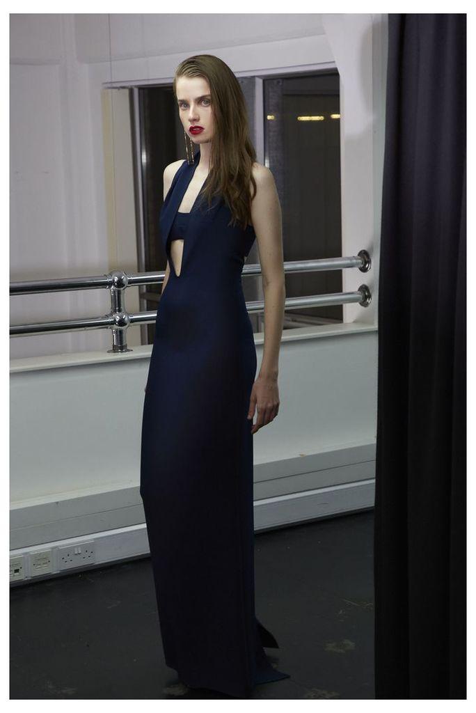 Tess Cut-Out Maxi Dress - Eclipse Navy