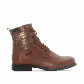 Sar Leather Ankle Boots