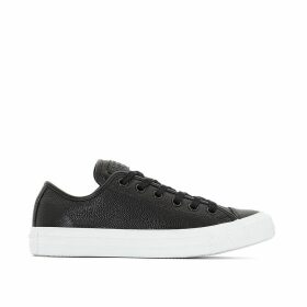 CTAS Pebbled Leather Ox Trainers