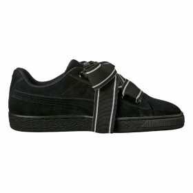 WNS Suede Heart Satin Trainers