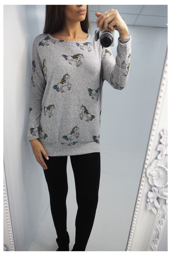 Elessy Unicorn printed sweatshirt