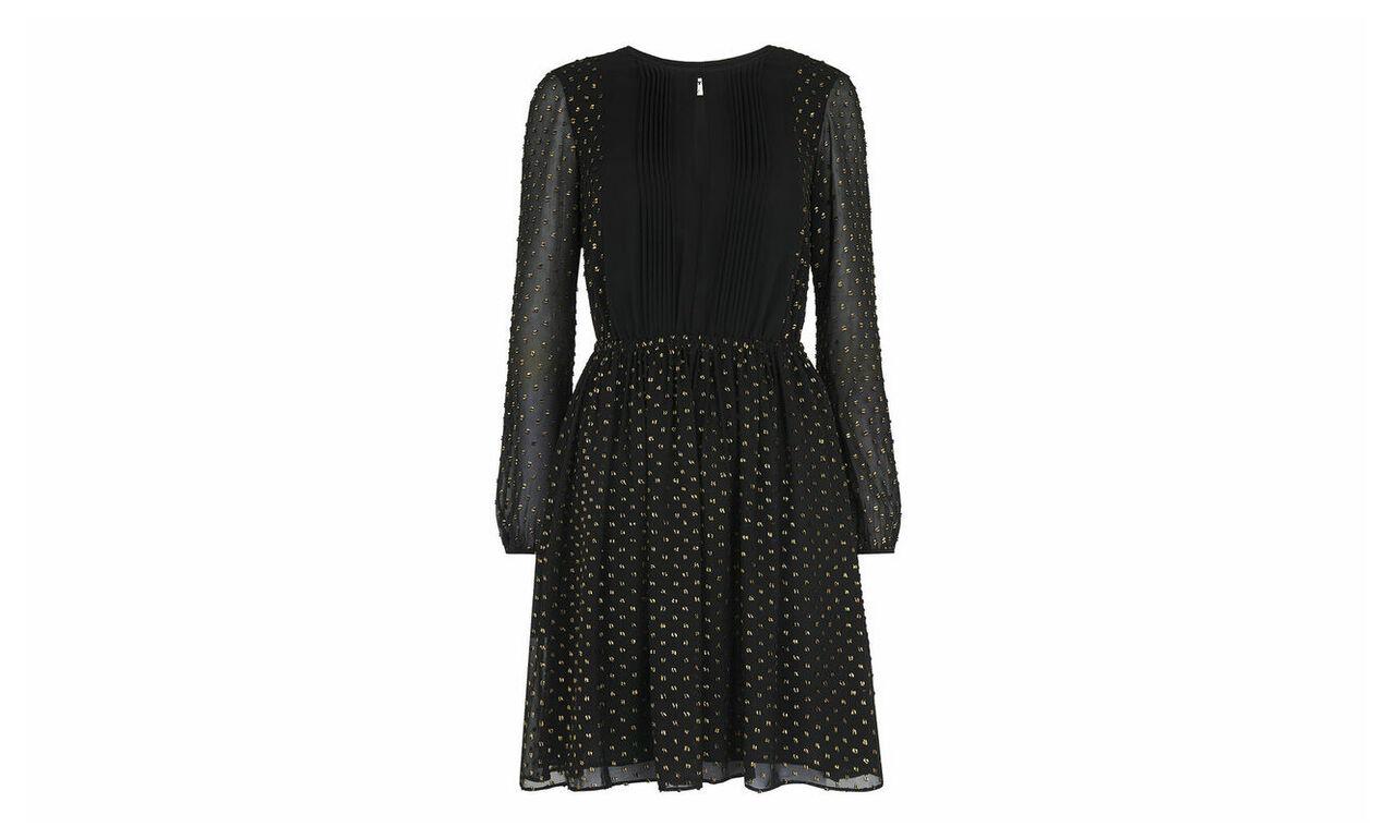 Eva Gold Fleck Dress