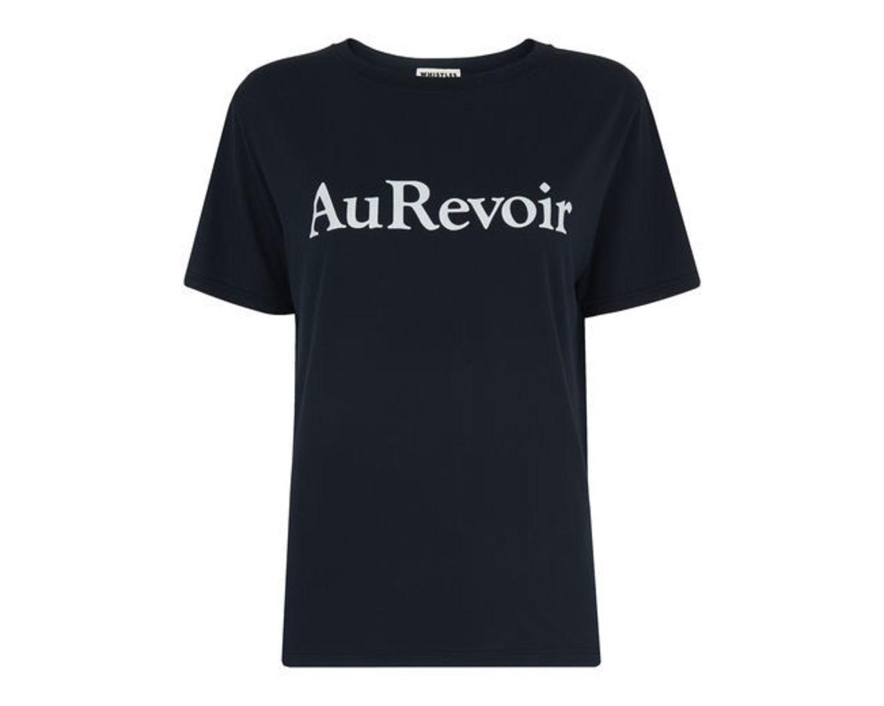 Au Revoir Logo Tee