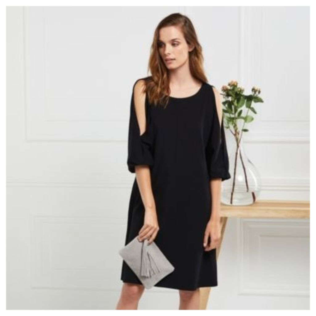 Split Sleeve Swing Dress