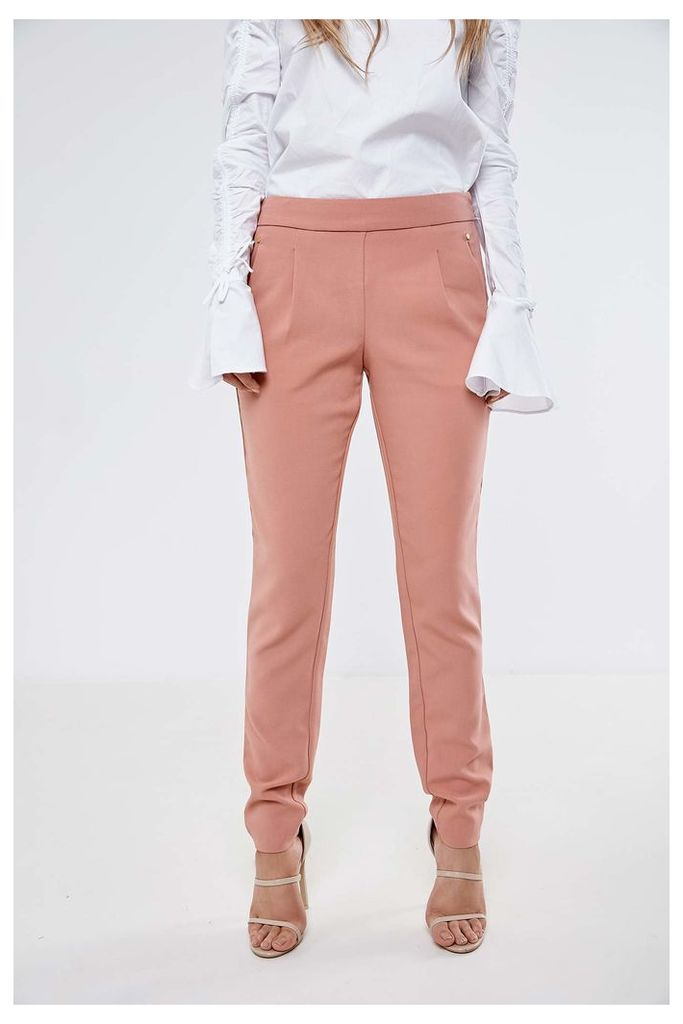 Vila Tailored Trousers - Pink