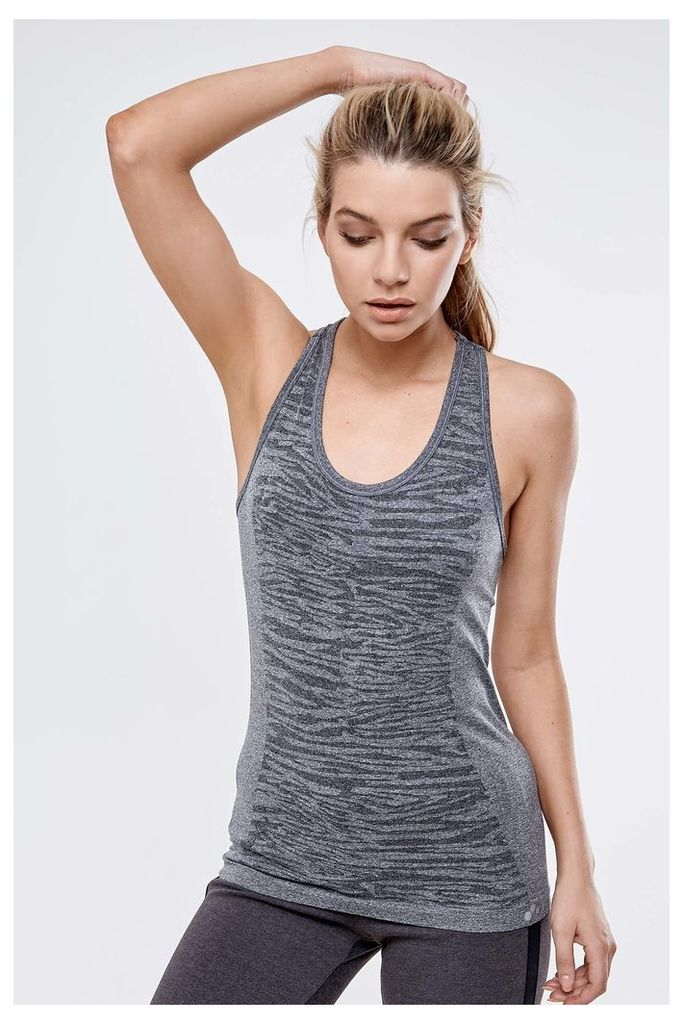 Only Play Seamless Training Tank Top - Grey