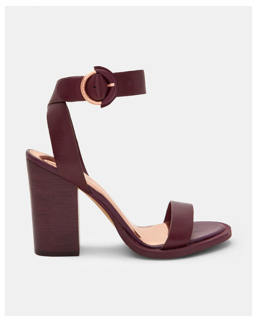 Ted Baker Ankle strap sandals Purple