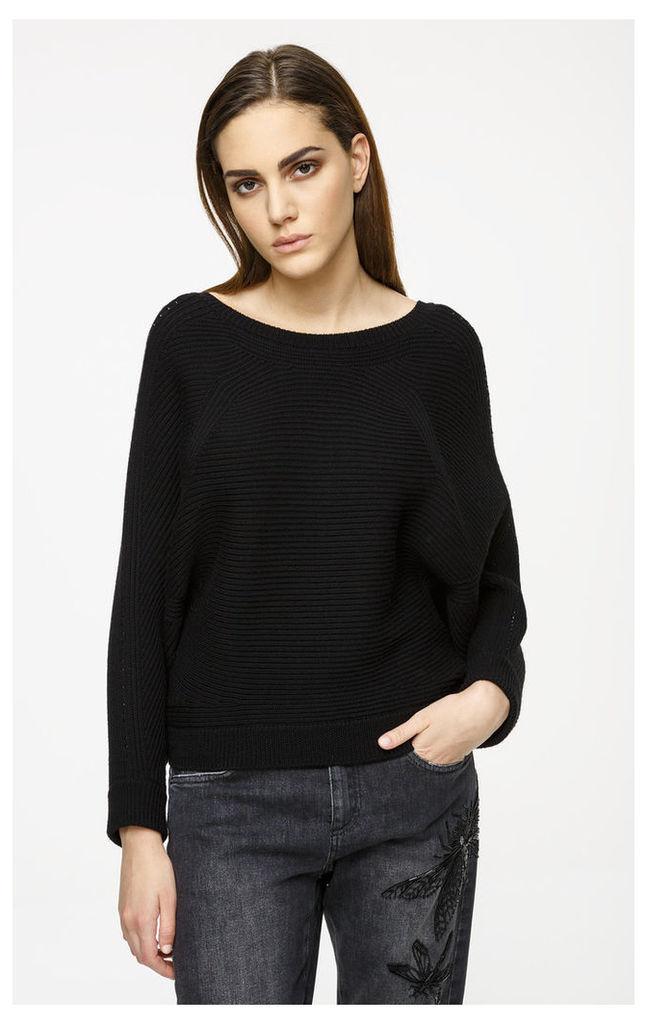 Embellished Virgin Wool Sweater